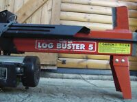Clarke electric Log Buster 5 - hardly used - good condition