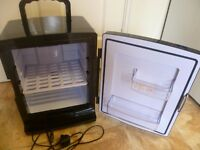 Portable Fridge/Warmer. Electric Or Battery Operated. Lightweight