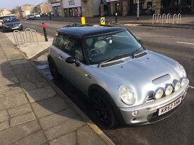 Mini cooper s 1.6 supercharged chilli pack