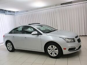 2016 Chevrolet Cruze LT TURBO SEDAN w/ SUNROOF, BACKUP CAMERA &