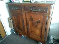 Mahogany French sideboard MUST GO BY 17 AUG