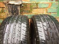 2x Tyres Triangle 225 55 16 M+S