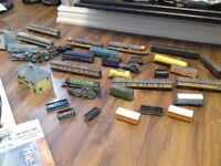 train set and loads of trains