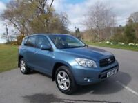 2007 57 TOYOTA RAV 4 2.0 XT-5 4X4 5 DOOR SUV CALL 07791629657 IN LOVELY METALLIC BLUE