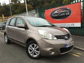 2009 59 Nissan Note 1.6 16v Acenta 5 Door Automatic Petrol Low Miles