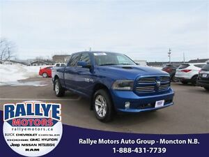 2015 Ram 1500 Sport! 4x4! Back-Up! Alloy! Sunroof! Leather!