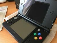 New Nintendo 3ds + games + charger