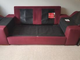 Sofa Bed - 2 seater - sofa in very good condition - Bed mattress not used and unwrapped