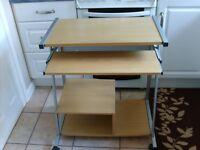 Argos computer desk, good condition, reason for sale space needed