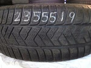 1 WINTER 235 55 19 PIRELLI WINTER SCORPION ICE AND SNOW
