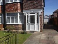 Fully furnished 3 bed rooms, two reception rooms semi-detached house in SALE (M33)