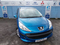 PART X DIRECT OFFERS PEUGEOT 207 1.4 NEW TIMING BELT+NEW MOT+SERVICE+WATER PUMP ,FINANCE AVAILABLE !