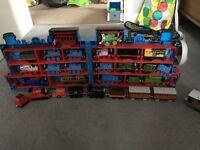 Thomas the tank engine take and play and 3D carry case