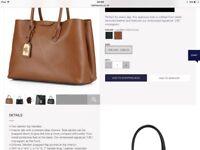 Ralph Lauren Tote Handbag Tan
