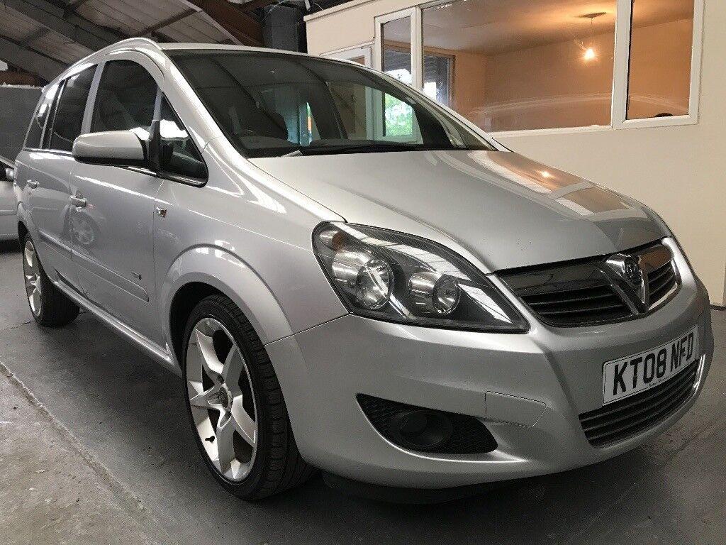 Vauxhall Zafira 1.9 Cdti (150 hp) 2008 SRI *Top Specs* *1 Year MOT* *Sports*