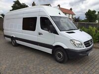 2010 Mercedes Sprinter XLWB Extra High Roof 313 Race Home Unfinished Project