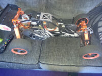 King Motor 29cc 1/5 scale RC buggy & extras