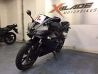 Yamaha YZF R125 Sports Motorcycle, Crash Bungs, Tail Tidy, Good Condition, ** Finance Available **