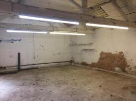 Workshop / Storage / Garage Office light commercial unit to let -500sq ft / 48sqm