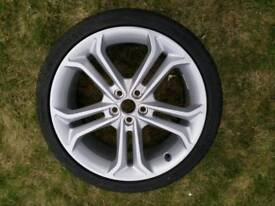 """Ford 19"""" wheel and tyre"""