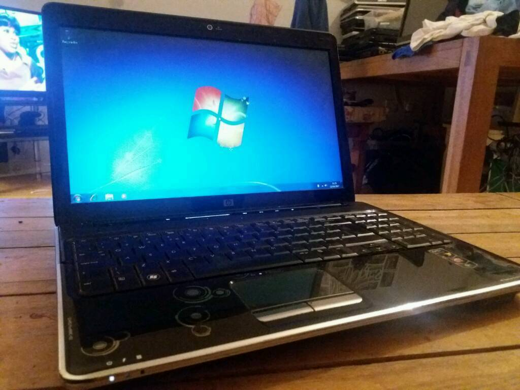 HP Compaq, Windows 7 laptop with HDMI & webcam