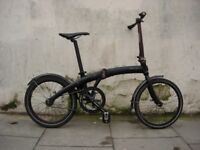 Compact Single Speed Folding/Commuter Bike by Dahon, Mu, Light Ali Frame, JUST SERVICED/ CHEAP PRICE