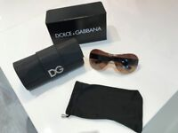 Perfect xmas gift - as new D&G sunglasses, boxed, perfect