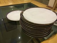 Set of 12 plates (vintage) - brand new