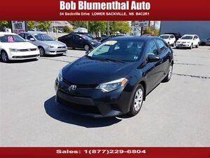 2014 Toyota Corolla LE w/ Heated Seats, Bluetooth, Back Up Camer