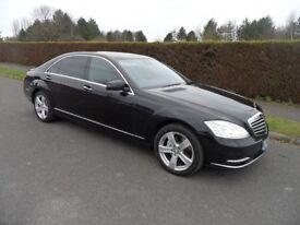 Mercedes-Benz S Class 3.0S350L CDi Blue-Tec L Limousine 7G-Tronic Plus 2013/62plate black 1 owner