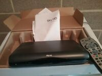 2 sky boxes both fully working one new and unused