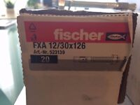 Fischer FXA 12/30X126 anchor bolts