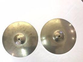 """Zildjian A 13"""" Custom Hi Hats Cymbals"""