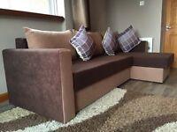 3 seater sofa bed-corner edition