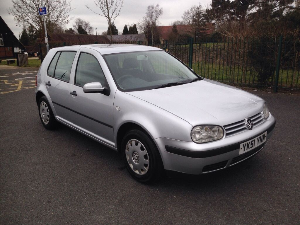 Vw Golf 1 6 S 2001 51 Reg 5 Door In Metallic Silver 5