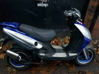 Fully running 50 cc
