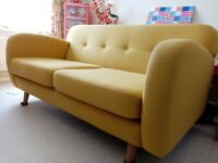 Spritz sofa in Yellow
