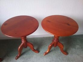 2 x occasional tables