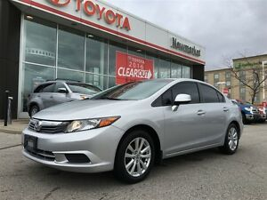 2012 Honda Civic Trade-in, Sunroof, Alloy Wheels, Power Windows