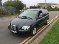 7 seats Diesel Chrysler Voyage 06 reg 12 months Mot ,twin sliding doors lots of room px welcome