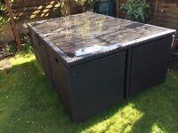Rattan Cube Furniture Set ( used )