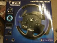 Thrustmaster T150 (PS4/PS3/PC) brand new