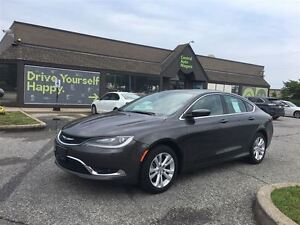 2015 Chrysler 200 Limited / 17 ALLOY RIMS /BLUETOOTH/HEATED SEAT