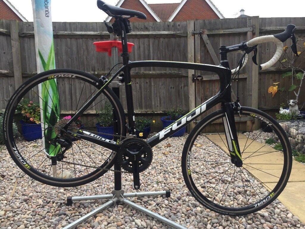 Fuji Gran Fondo 2 5 Full Carbon Fibre Shimano 105 Road Bike Size