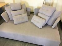Brand new sofa Fama Mycube sofa and bed grey