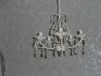 BEAUTIFUL SMALL 5 ARM CHANDELIER