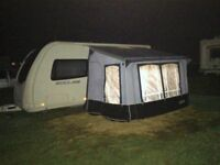 Caravan Awning - Good Quality & Condition - Quest Elite Windsor Plus