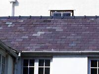 "Reclaimed 10"" x 18"" (x500,) 12"" x 20"" (x125),10"" x 20"" (x25) Welsh Roof Slate Heather purple"