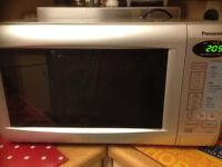 panasonic silver 800w microwave