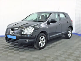 Nissan QASHQAI ACENTA 4WD with Bad Credit Car Finance and Nationwide Delivery Available